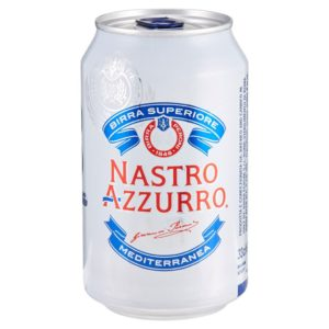 Nastro Azzurro Lattina cl. 33 x 24
