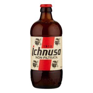"Ichnusa ""non filtrata"" cl. 33 x 24 bt."
