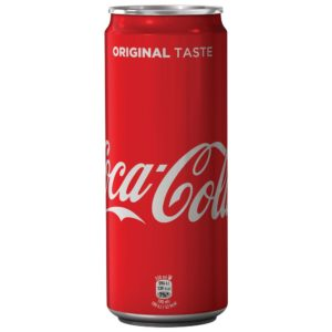 Coca Cola Lattina sleek cl.33 x 24