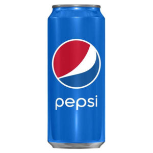 Pepsi Regular 330 ml. Can Sleek x 24 Latt.