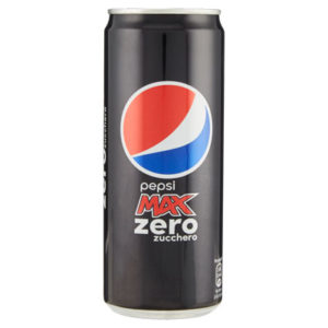 Pepsi Max Zero 330 ml. Can Sleek x 24 Latt.