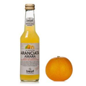 """Aranciata Amara """"Lurisia"""" cl. 20 X 24 bt."""