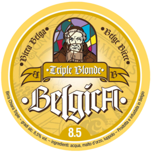 Fusto Belgica Trippel Blonde 15,3 lt.
