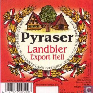 Fusto Pyraser Landbier 20 lt.