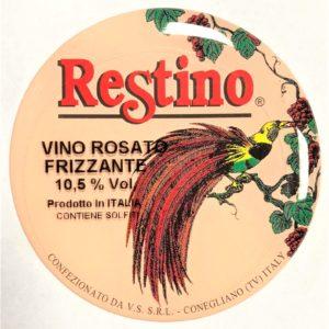 Fusto Restino Rosato Frizzante gr. 11 lt. 25