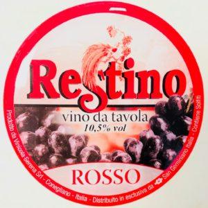 Fusto Restino Rosso gr. 11 lt. 25
