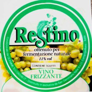 Fusto Restino Bianco Frizz. gr. 11 lt. 25