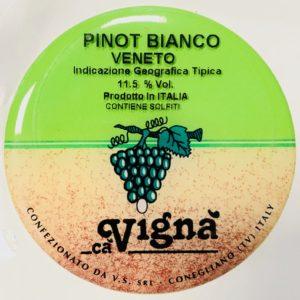 Fusto Ca Vigna' Pinot Bianco lt. 25