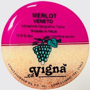 Fusto Ca Vigna' Merlot lt. 25