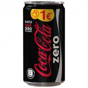 Coca Cola Zero Lattina Slim 250 x 24