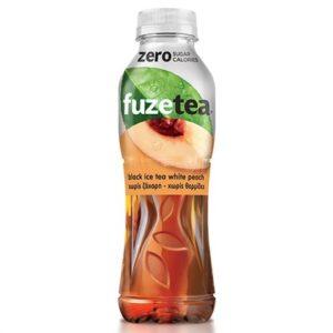 Fuze Tea Zero Peach Rose 400 x 12 bt. Pet