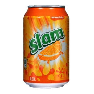 Pepsi Slam Orange 330 ml. Can Sleek x 24 Latt.