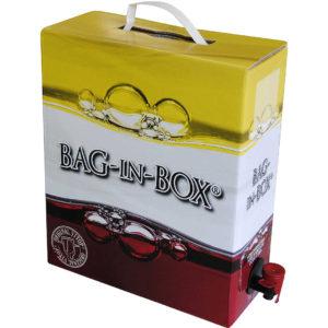 Vino Rosso 11,5° Lt. 10 Corte Rossa Bag in Box