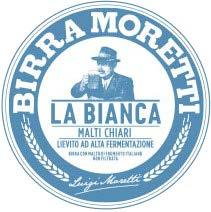 Fusto Moretti La Bianca 20 lt.